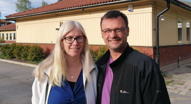 Micke och Ingegerd Johansson